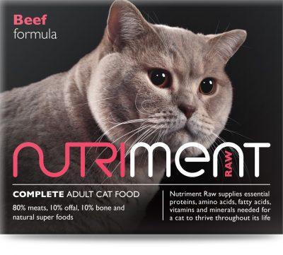 Cat Food Beef Formula