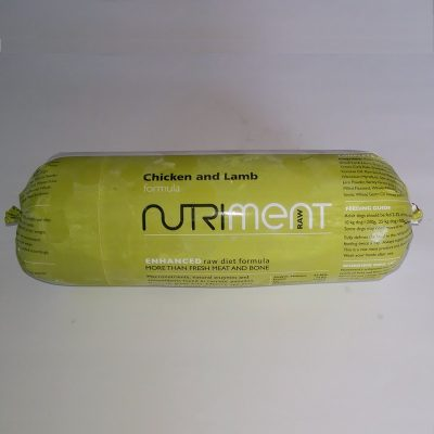 Nutriment Chicken and Lamb Chubb