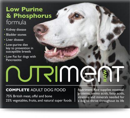 Low Purine and Phosphorus Formula