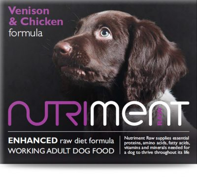 Nutriment Venison with Chicken Formula