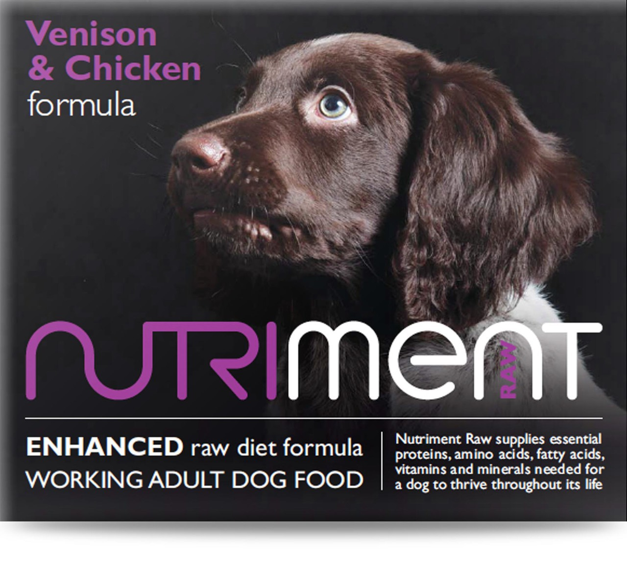 Nutriment Venison with Chicken Formula