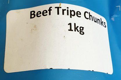 DAF Beef Tripe Chunks Label