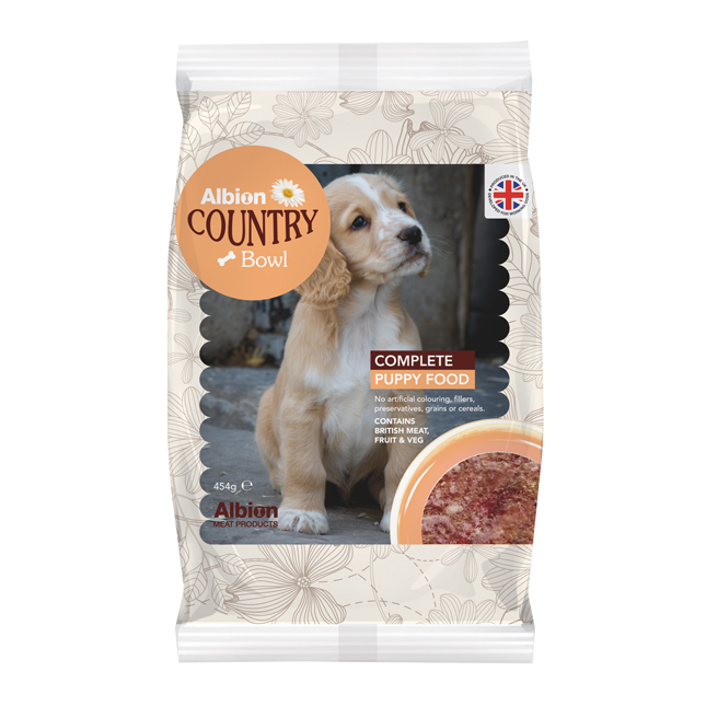 complete puppy food