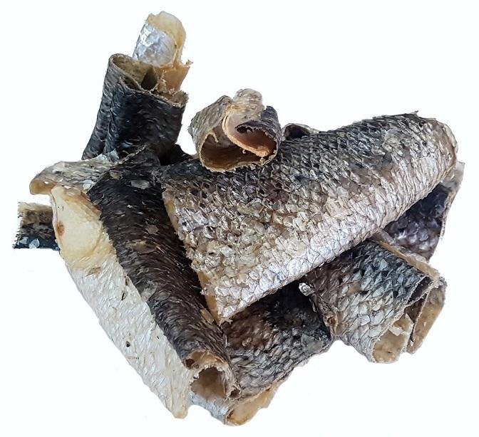 Salmon Skins, Naturaly Air Dried - A Natural Healthy Treat ...