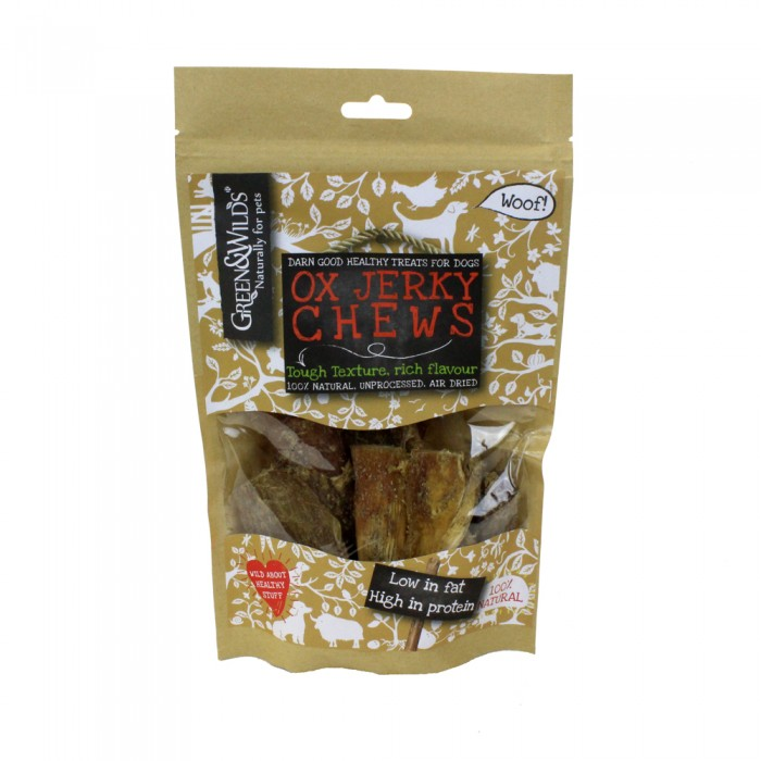 Ox Jerky Chews for Dogs