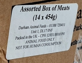 DAF Assorted Box of 14 Meats Label