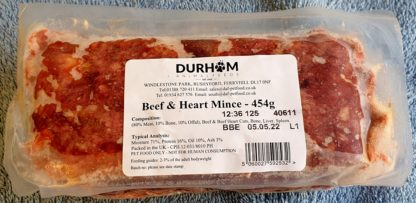 DAF Beef and Heart Mince