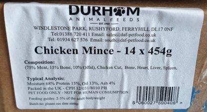 DAF Chicken Box of 14 Label