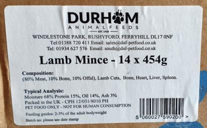 DAF Lamb Box of 14 Label