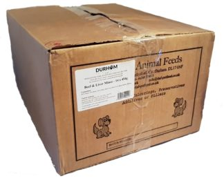 Beef and Liver Box of 14