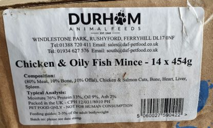 DAF Chicken and Oily Fish Box of 14 Label
