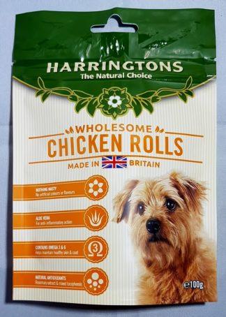 Chicken Rolls Harringtons