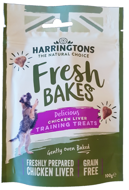 Harringtons Chicken Liver Bakes Training Treats