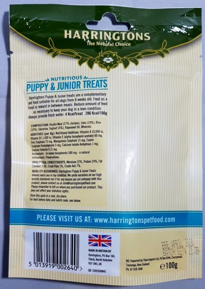 Puppy and Junior Natural Treats