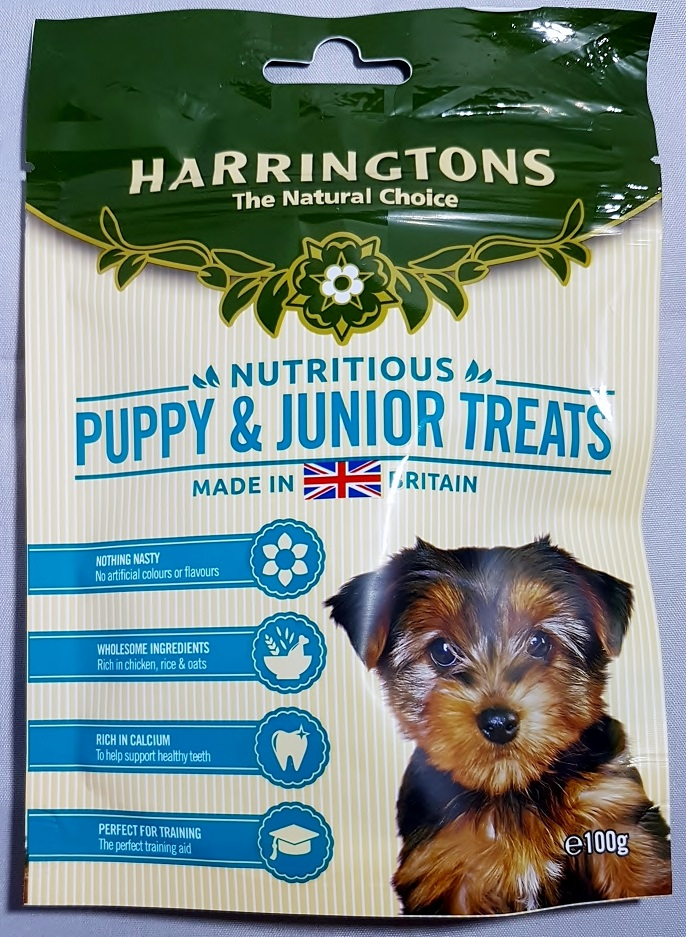 Puppy and Junior Treats Harringtons