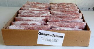 Tripe Factory Chicken and Salmon Box of 20