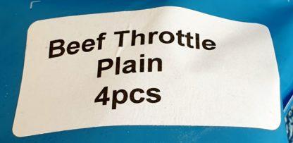 DAF Beef Throttle Plain Label