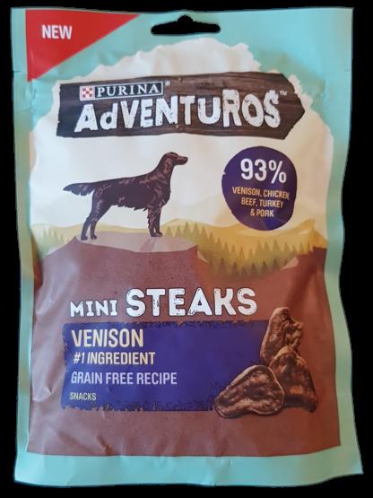 Purina Venison Mini Steaks