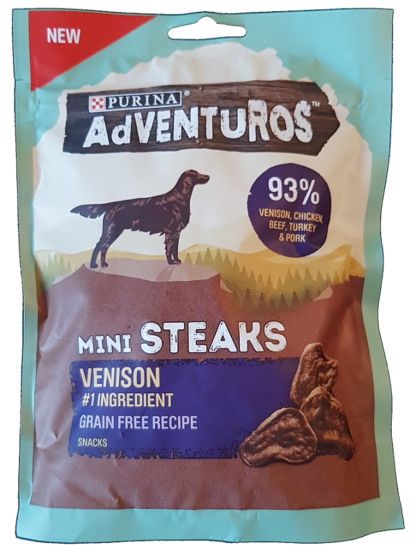 Purina Venison Mini Steaks