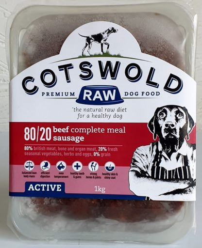 Cotswold Raw Beef Sausage 1kg