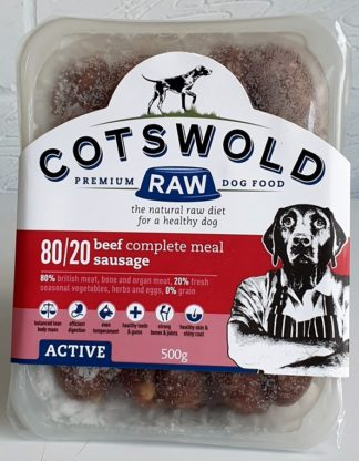 Cotswold Raw Beef Sausage 500g