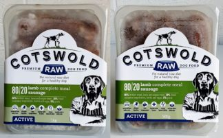 Cotswold Raw Lamb Sausage