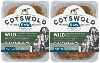 Cotswold Raw Wild Duck and Venison