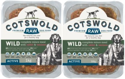 Cotswold Raw Wild Rabbit and Venison