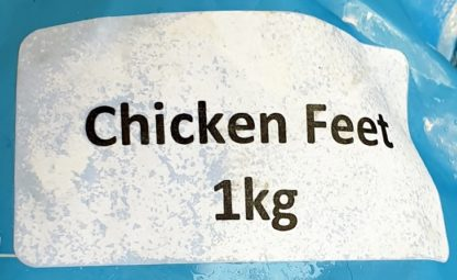 DAF Chicken Feet Label