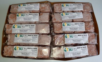 MJ Beef and Tripe Box of 20