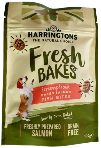 Harringtons Salmon Fish Bites