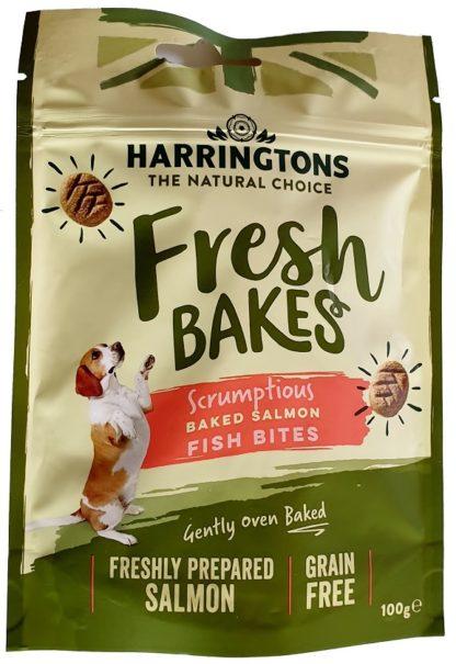 Harringtons Salmon Fish Bites