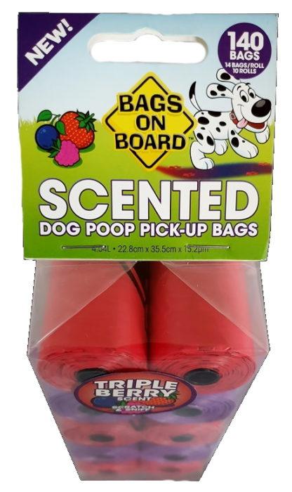 140 Scented Dog Poop Bags