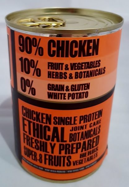AATU Tinned Chicken Contents