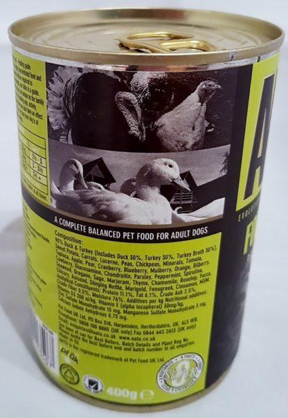 AATU Tinned Duck and Turkey Complete