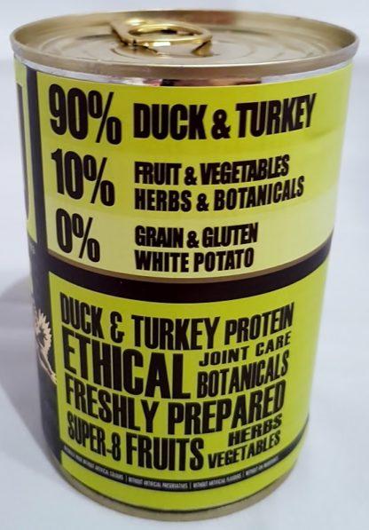 AATU Tinned Duck and Turkey Contents