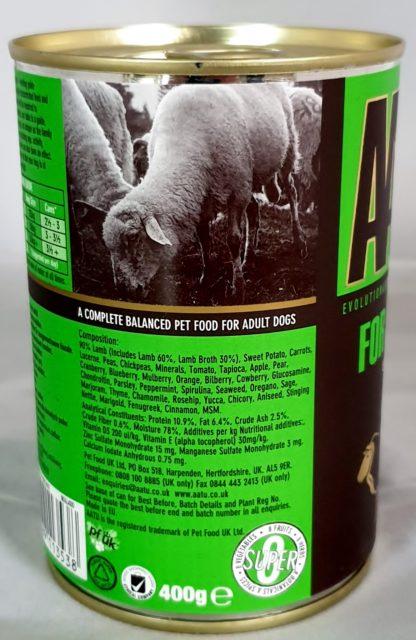 AATU Tinned Lamb Complete