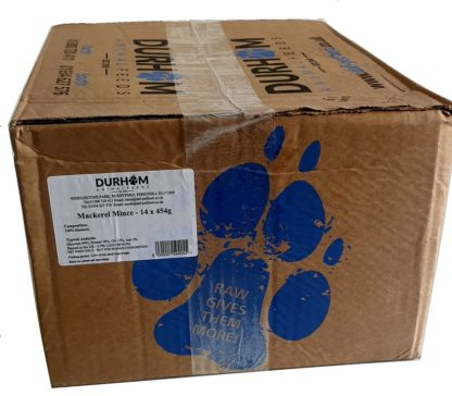 DAF Mackerel Mince Box of 14