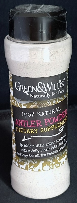 Green and Wilds Antler Powder