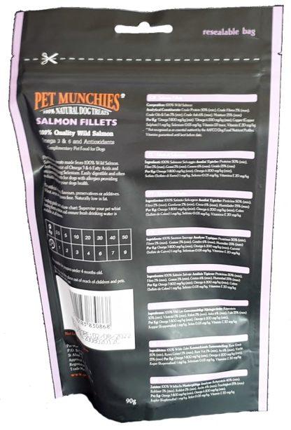 Pet Munchies Salmon Fillets Treats