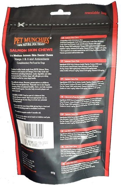 Pet Munchies Salmon Skin Chew Treats