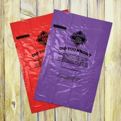 Scented Triple Berry Poo Bags