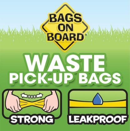 Stong and Leakproof Poop Bags