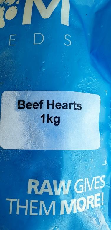 DAF Beef Hearts Label