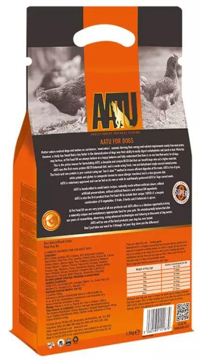AATU Dried Chicken Back