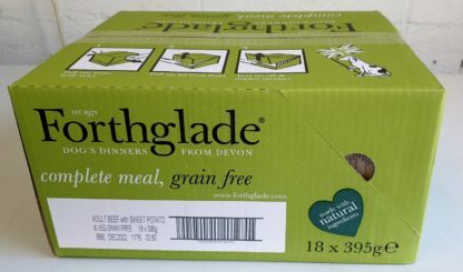 Forthglade Beef with Sweet Potato and Veg Box