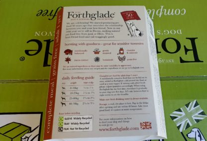 Forthglade Beef with Sweet Potato and Veg Feeding Guide
