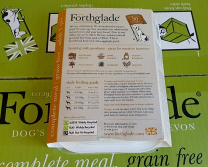Forthglade Chicken and Liver with Sweet Potato and Veg Feeding Guide