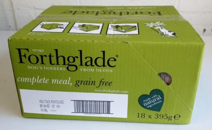 Forthglade Duck with Potato and Veg Box
