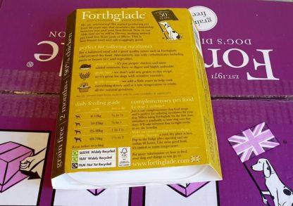 Forthglade Just Chicken Feeding Guide